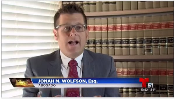 Johan M. Wolfson in the news